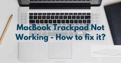MacBook Trackpad Not Working – How to fix it?